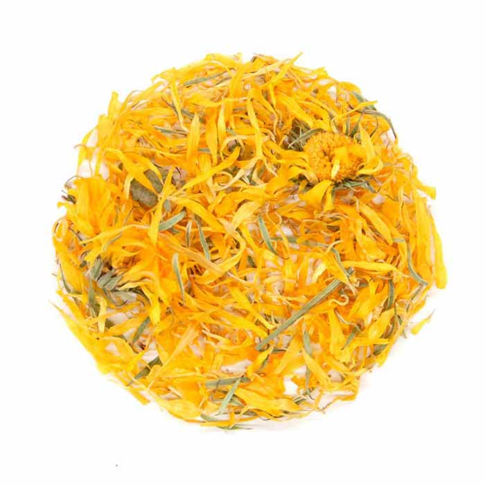 Calendula marigold petal organic tea herbs and spices