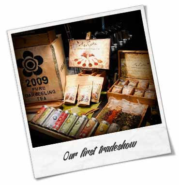 Coffee and Tea Show, Toronto, Certified Organic Tea by Shanti Tea Canada