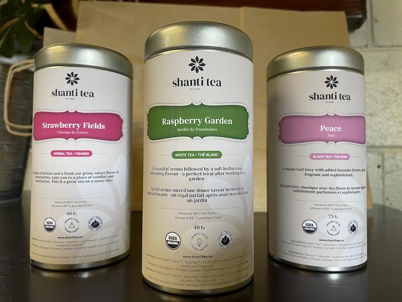 Shanti Tea Retailers