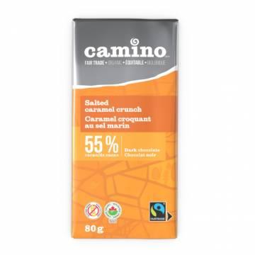 Camino Salted Caramel Crunch Chocolate