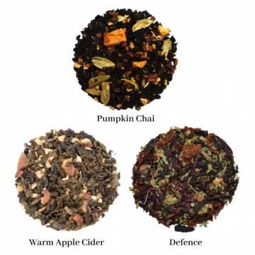 A Fall Tea Sampler