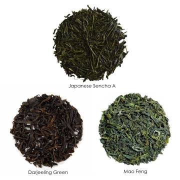 A Luxurious Green Tea Collection